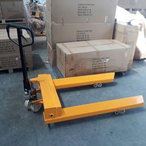 Транспалетна количка за рулони 1000кг, 455мм