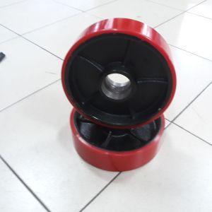 Колело за транспалетна количка Ф 180 (чугун и полиуретан)